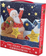 Omslag - The Night Before Christmas Book and Puzzle Pack