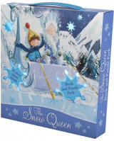 Omslag - The Snow Queen Book and Puzzle Pack
