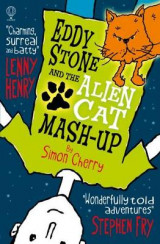 Omslag - Eddy Stone and the Alien Cat Mash-Up
