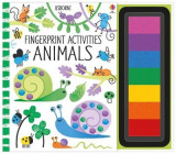 Omslag - Fingerprint Activities: Animals