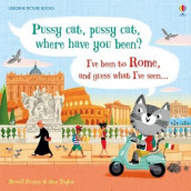 Pussy cat, pussy cat, where have you been? I've been to Rome and guess what I've seen... av Russell Punter (Innbundet)