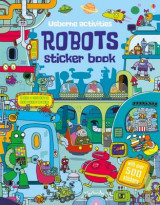 Omslag - Robots Sticker Book