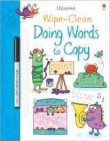 Omslag - Wipe-Clean Doing Words to Copy