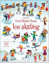 Omslag - First Sticker Book Ice Skating