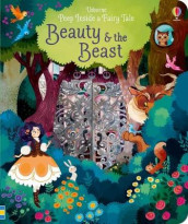 Peep Inside a Fairy Tale Beauty & The Beast av Anna Milbourne (Kartonert)