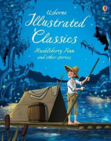 Omslag - Illustrated Classics Huckleberry Finn & Other Stories