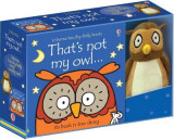 Omslag - That's Not My Owl Book and Toy
