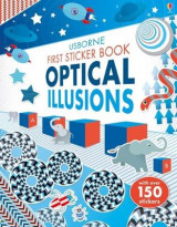 Omslag - First Sticker Book Optical Illusions
