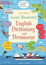 Omslag - Junior Illustrated English Dictionary and Thesaurus