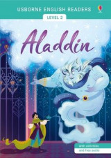 Omslag - Usborne English Readers Level 2: Aladdin