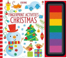 Fingerprint Activities Christmas av Fiona Watt (Innbundet)
