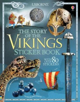 Omslag - The Story of the Vikings Sticker Book