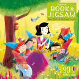 Omslag - An Usborne Jigsaw with a Picture Book Snow White and the Seven Dwarfs