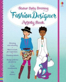 Sticker Dolly Fashion Designer Activity Book av Fiona Watt (Innbundet)