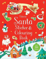 Omslag - Santa Sticker and Colouring Book