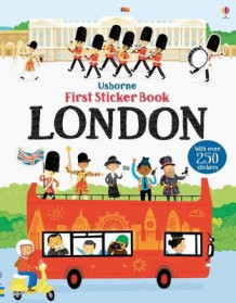 First Sticker Book London av James MacLaine (Heftet)