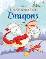 Omslag - First Colouring Book Dragons