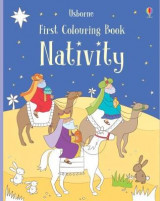 Omslag - First Colouring Book Nativity