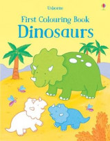 Omslag - First Colouring Book Dinosaurs