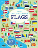Omslag - First Sticker Book Flags