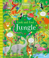 Look and Find Jungle av Kirsteen Robson (Innbundet)
