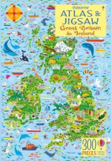 Omslag - Usborne Atlas and Jigsaw Great Britain and Ireland