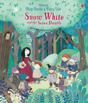 Peep Inside a Fairy Tale Snow White and the Seven Dwarfs av Anna Milbourne (Kartonert)