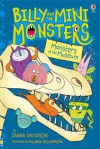 Billy and the Mini Monsters: Monsters at the Museum av Zanna Davidson (Innbundet)