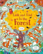 Look and Find In the Forest av Kirsteen Robson (Innbundet)