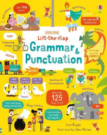 Lift-the-Flap Grammar and Punctuation av Lara Bryan (Kartonert)
