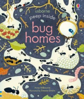 Peep Inside Bug Homes av Anna Milbourne (Kartonert)