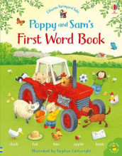 Poppy and Sam's First Word Book av Heather Amery (Innbundet)
