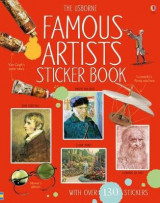 Omslag - Famous Artists Sticker Book