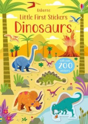 Little First Stickers Dinosaurs av Kirsteen Robson (Heftet)