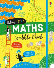 Maths Scribble Book av Alice James (Innbundet)