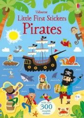 Little First Stickers Pirates av Kirsteen Robson (Heftet)