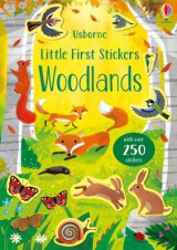 Omslag - Little First Stickers Woodlands