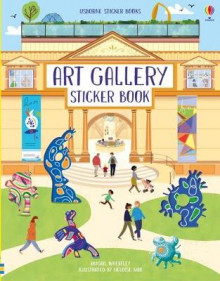 Art Gallery Sticker Book av Abigail Wheatley (Heftet)