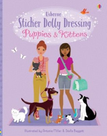 Sticker Dolly Dressing Puppies and Kittens av Fiona Watt og Lucy Bowman (Heftet)