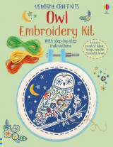 Omslag - Embroidery Kit: Owl