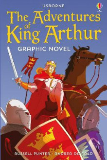 The Adventures of King Arthur Graphic Novel av Russell Punter (Heftet)
