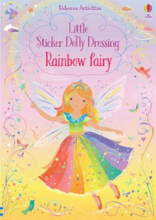 Little Sticker Dolly Dressing Rainbow Fairy av Fiona Watt (Heftet)