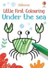 Omslag - Little First Colouring Under the Sea