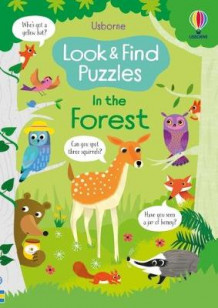 Look and Find Puzzles: In the Forest av Kirsteen Robson (Heftet)