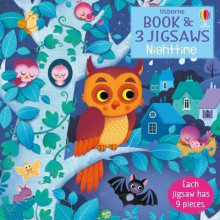 Usborne Book and 3 Jigsaws: Night time av Sam Taplin (Kartonert)