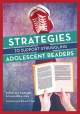 Omslag - Strategies to Support Struggling Adolescent Readers, Grades 6-12