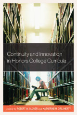 Omslag - Continuity and Innovation in Honors College Curricula