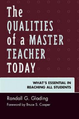 Omslag - The Qualities of a Master Teacher Today
