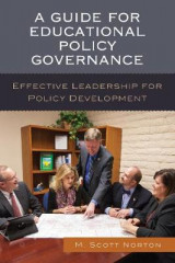 Omslag - A Guide for Educational Policy Governance