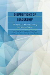 Omslag - Dispositions of Leadership